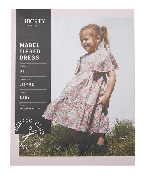 Liberty Mabel Tiered Dress