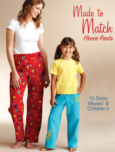 Kwik Sew 3837 - Misses' & Children's Fleece Pants
