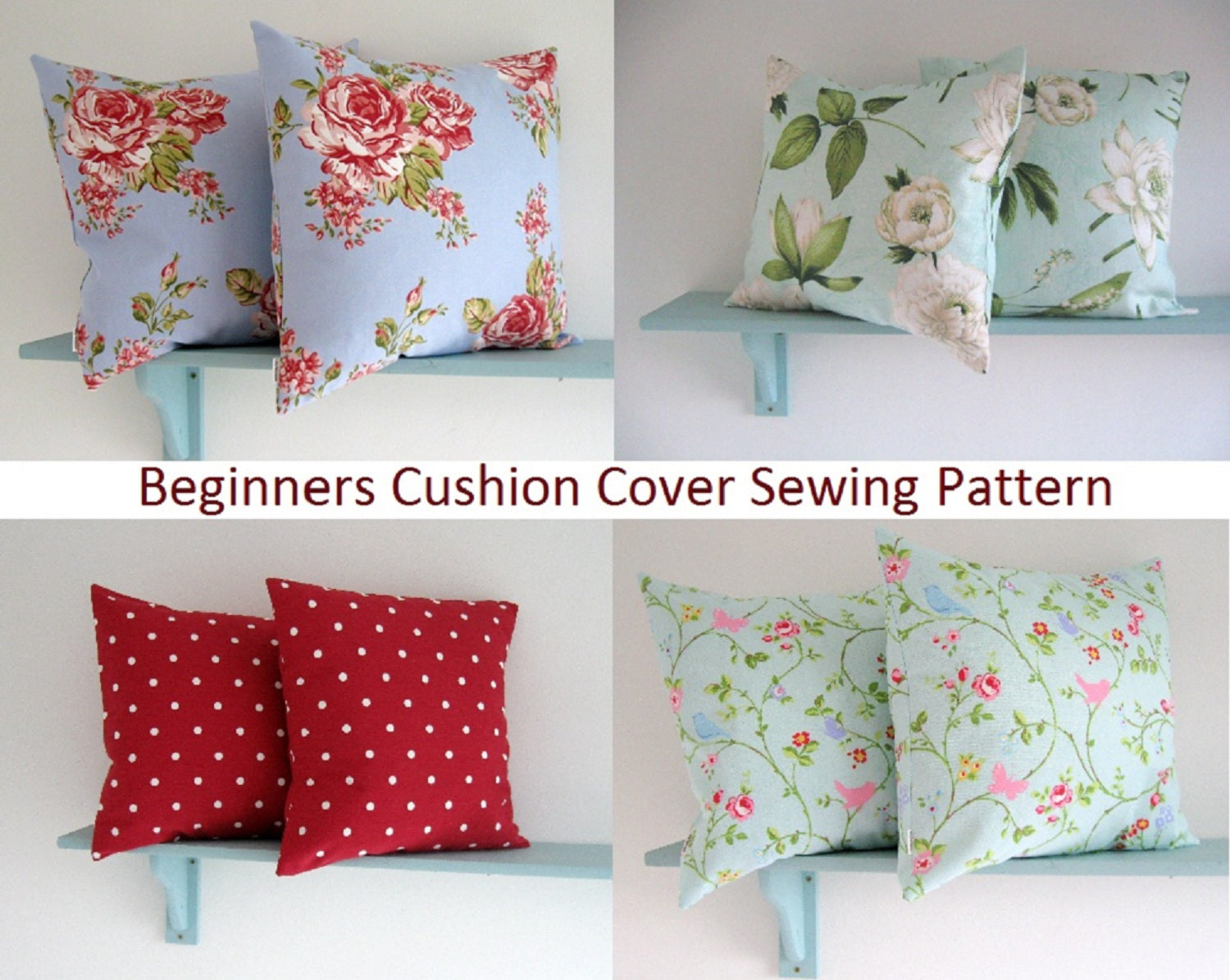 Lilly*Blossom Envelope Cushion Cover 003