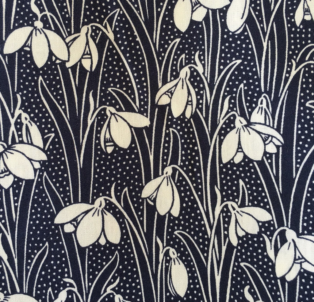Liberty Saville Poplin Fabric - LCP03165251A - Hesketh (Snowdrop)
