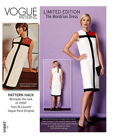 Vogue - Limited Edition Mondrian Dress F5