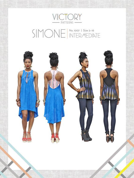 Victory Patterns - Simone Dress and Tank Top