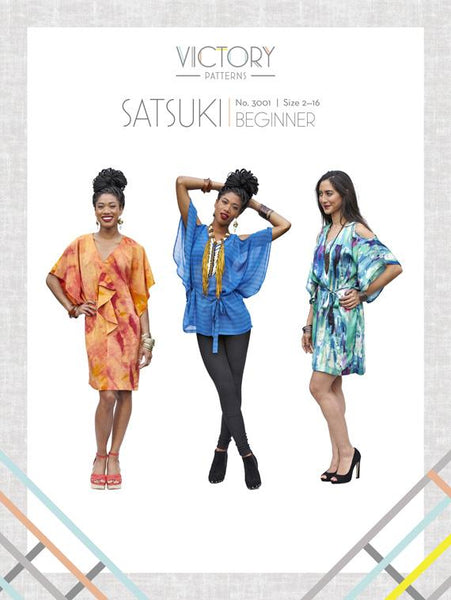 Victory Patterns - Satsuki Dress and Blouse