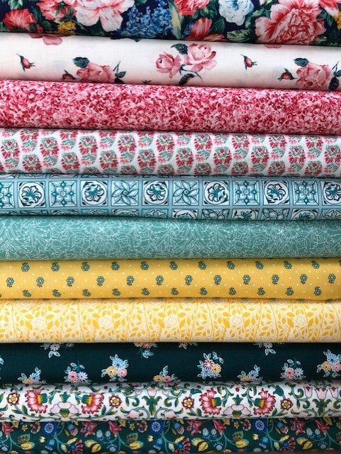 Liberty Emporium Collection - Brights & Jewel- 11 x Fat Quarter Pack