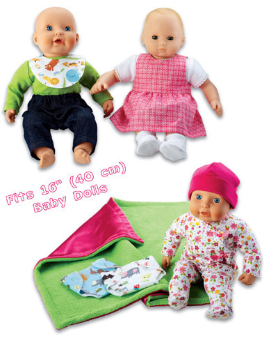 Kwik Sew 3834 - Crafts Doll Clothes