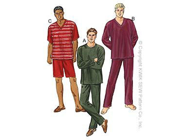 Kwik Sew 3044 - Men's Pajamas
