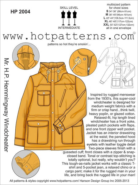Hot Patterns 2004 - Mr H.P. Hemmingway Windcheater