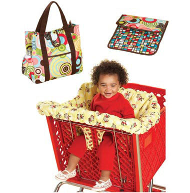 Kwik Sew 3643 -  Shopping Cart Seat Cover & Diaper Bag with Changing Pad