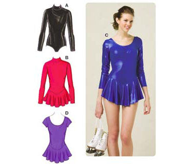 Kwik Sew 3502 - Misses' Leotards