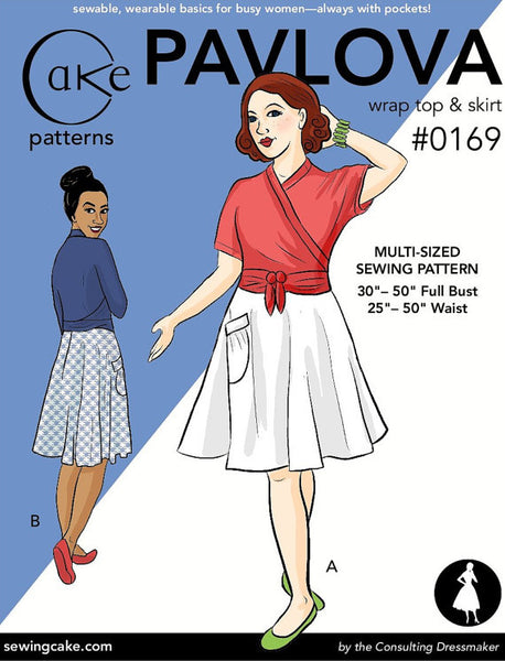 Cake - Pavlova Wrap Top and Skirt
