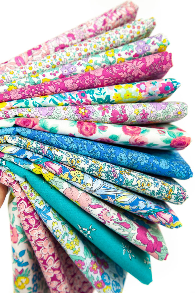 Liberty Summer Flower Show Collection  15 x Fat Quarter Pack