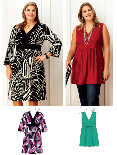 Kwik Sew 3754 - Women's Dress & Tunic