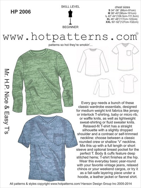 Hot Patterns 2006 - Mr H.P. Nice & Easy T's