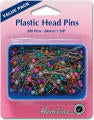 Plastic Head Pins - Value Pack - 34mm x 0.65mm