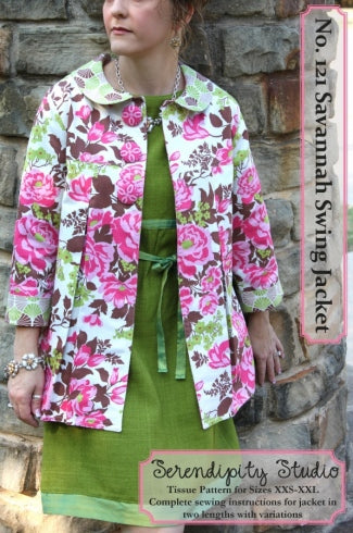 Serendipity Studio - 121 - The Savannah Swing Jacket - Back in Stock