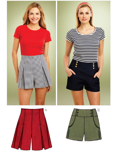 Kwik Sew 3854 - Misses' Shorts