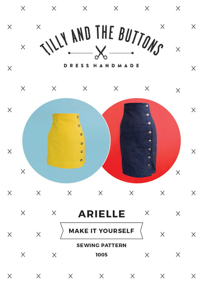 Tilly and the Buttons - Arielle Skirt 1005