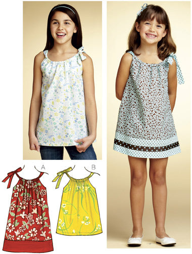 Kwik Sew 3768 - Girls' Dress & Tunic