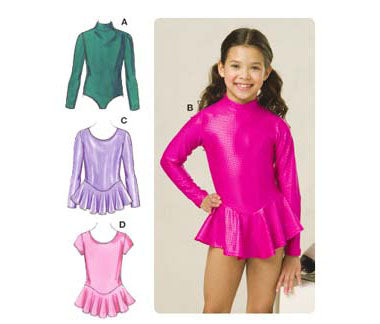 Kwik Sew 3507 - Girls' Leotards