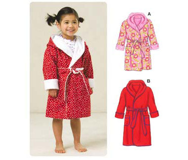 Kwik Sew 3509 - Toddlers' Robes