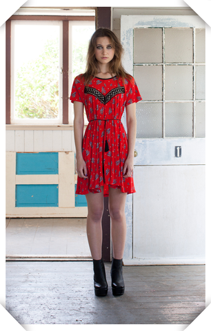 Papercut Clover Dress/Blouse