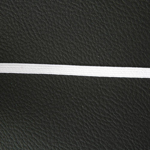 White Elastic  - 6mm