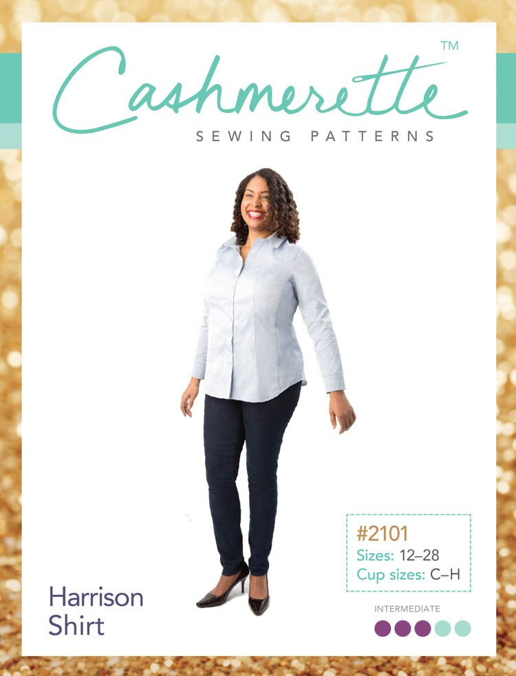 Cashmerette Harrison Shirt - NEW - UK Size 16-32
