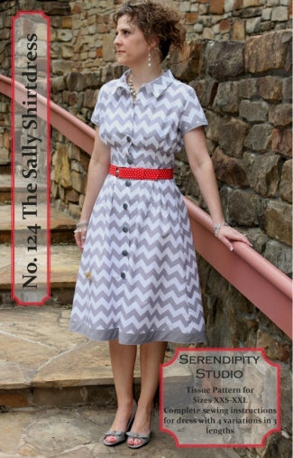 Serendipity Studio - 124- The Sally Dress