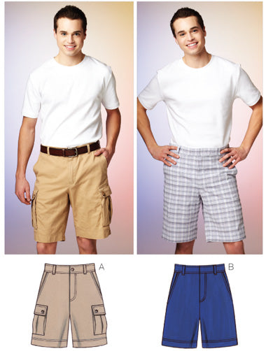 Kwik Sew 3884 - Men's Shorts