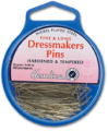 Dressmakers Pins, Nickel Plated Steel - 30mm x 0.6mm