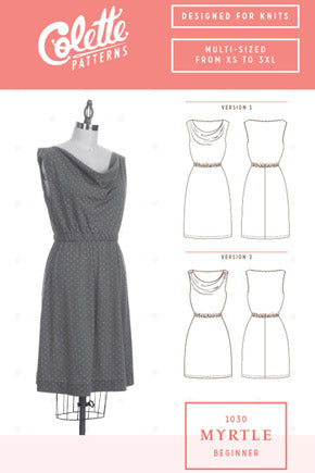 Colette Patterns Mrytle Dress - 1030