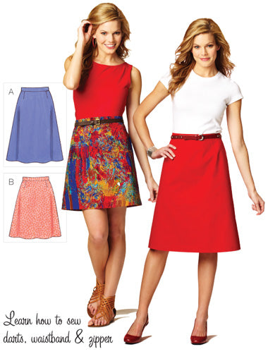 Kwik Sew 3877 - Misses' Skirts