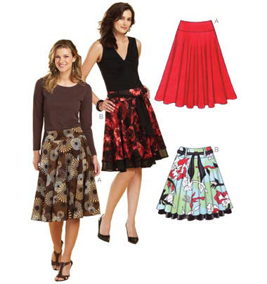 Kwik Sew 3637 - Misses' Skirts