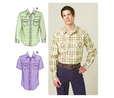 Kwik Sew 3506 - Men's Shirts