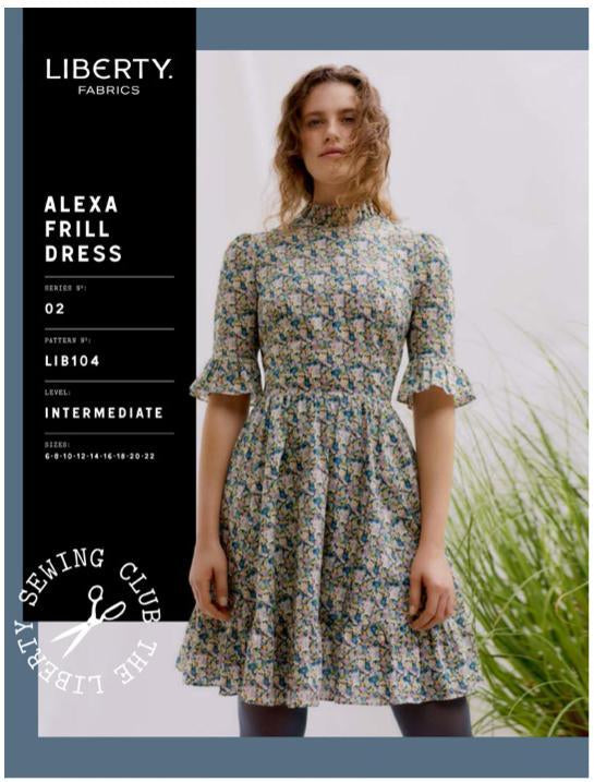 Liberty Alexa Frill Dress