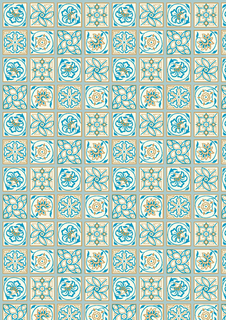 Emporium Collection -  Argyll Tile 04775909B (Blues)