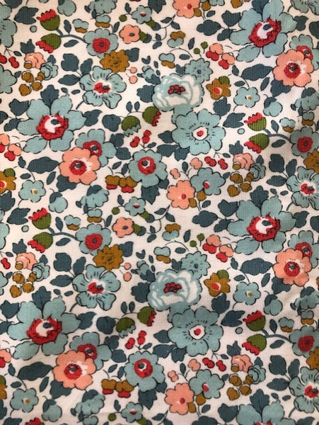 Liberty Rossmore Cord Fabric  - Betsy grey