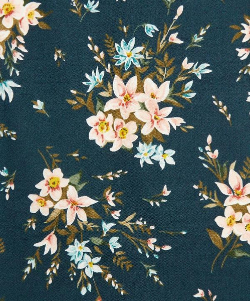 Liberty - Winterbourne Collection - Bouquet C - Teal