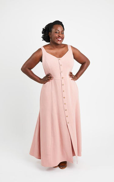 Cashmerette Holyoke Maxi Dress & Skirt -  - NEW - UK Size 12-28