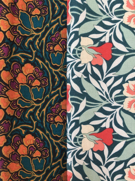 Liberty Hesketh House Collection  2 x Fat Quarter Pack 1
