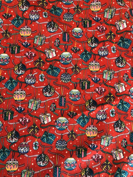 Liberty Tana Lawn - LTL03630202C - House of Gifts (Red)