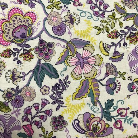 Liberty Cotton Fabric - Mabelle