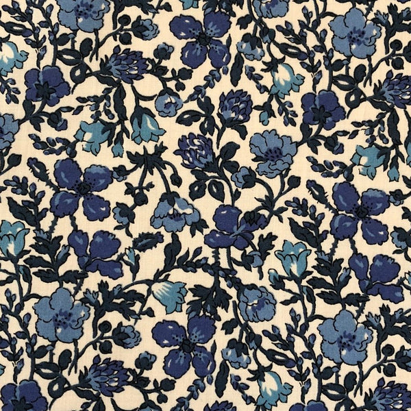 Liberty Tana Lawn - LTL0363038A - Meadow (blues)