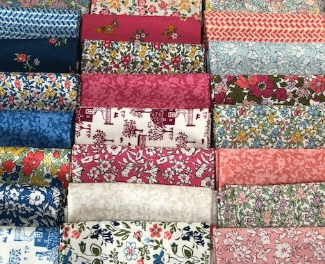 Liberty Cottage Garden Collection - 24 x Fat Quarter Pack