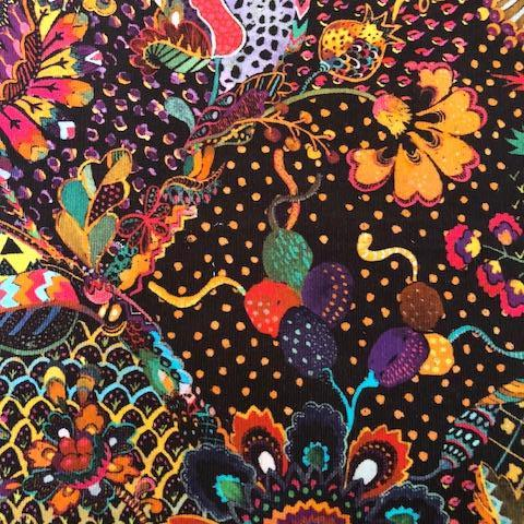 Liberty Rossmore Cord Fabric -  LRC03540000B - Grand Bazaar (orange)