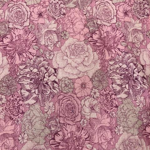 Liberty Lindford Fleece Fabric - Dulwich Park - LF03334257A
