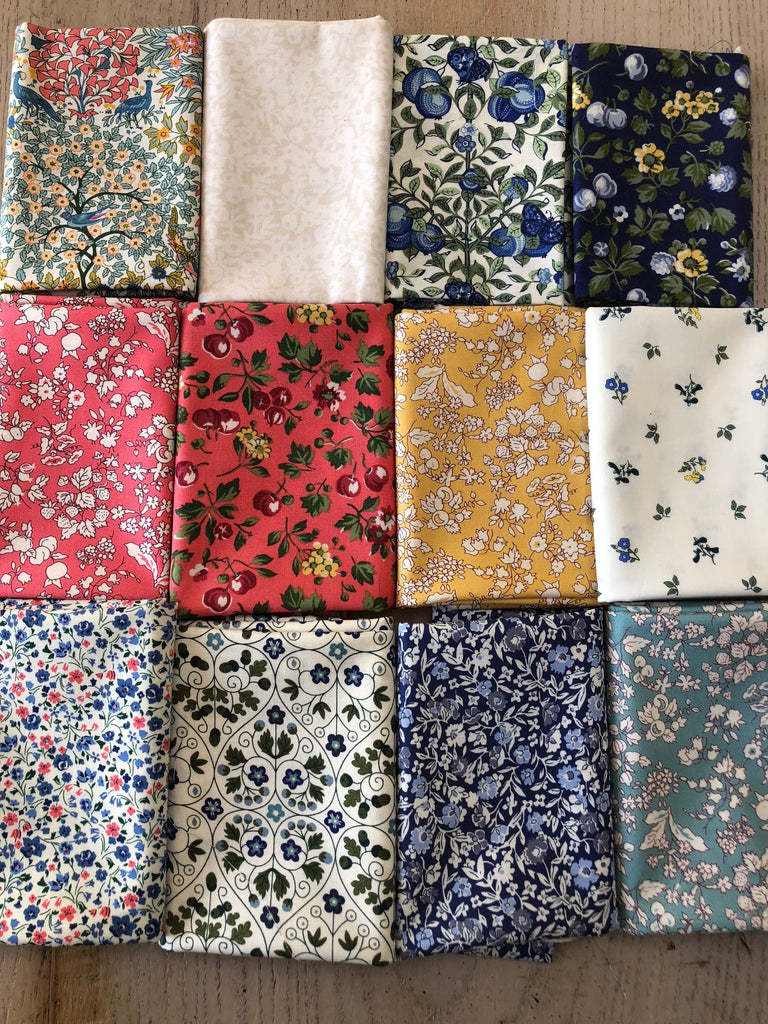 Liberty Orchard Garden Collection  - 12 x Fat Quarter Pack   Last One!