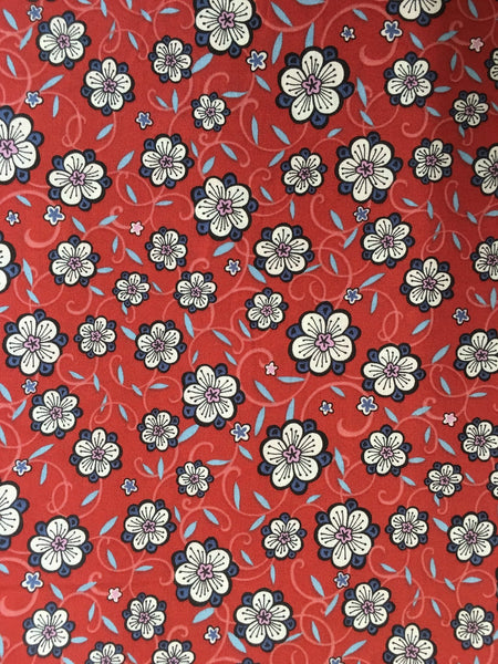 Liberty Tana Lawn - LTL03636269 - Lolly (brick)