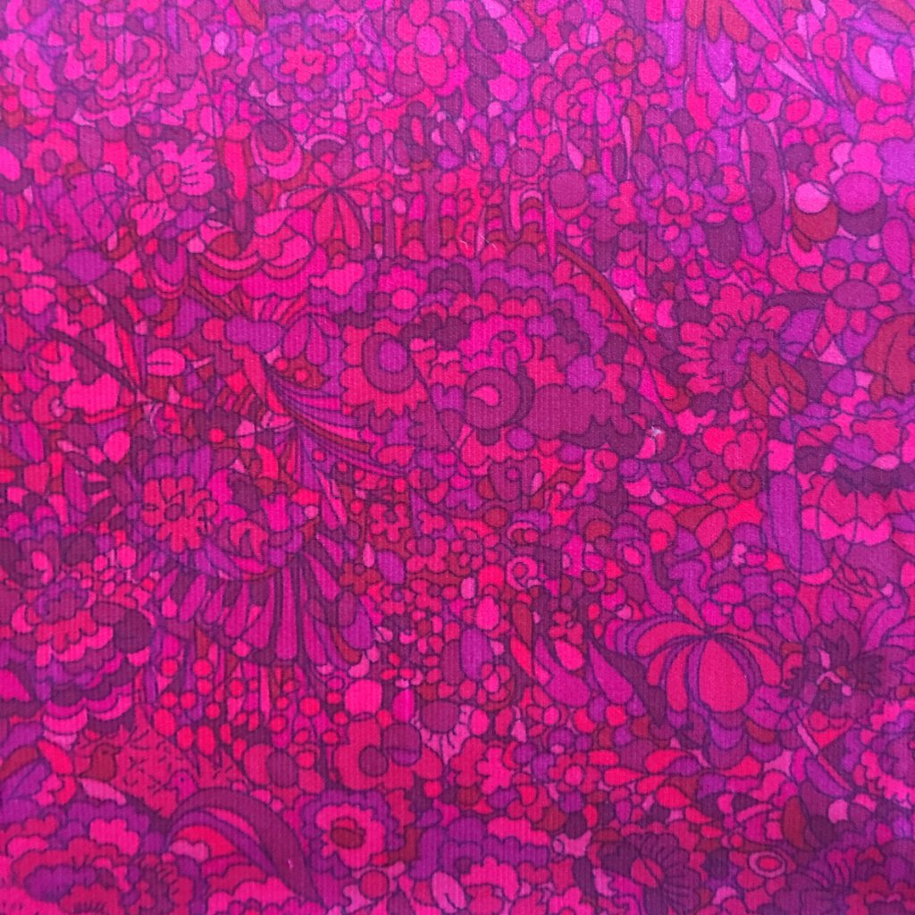 Liberty Rossmore Cord Fabric -  LRC03543258A - Kindle Pink