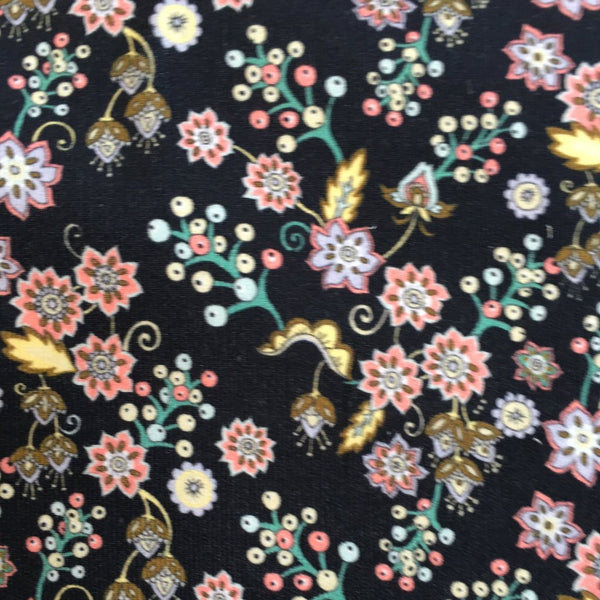Liberty Rossmore Cord Fabric -Buds & Berries - LRC03546251B